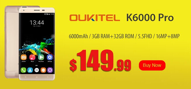 OUKITEL Smartphone Deal