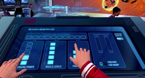 Star Trek VR Gaming