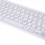 Slim Keyboard 2.4GHz Ultrathin Wireless with Mouse $11